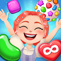 Candy Go Round - #1 Free Candy Puzzle Match 3 Game icon