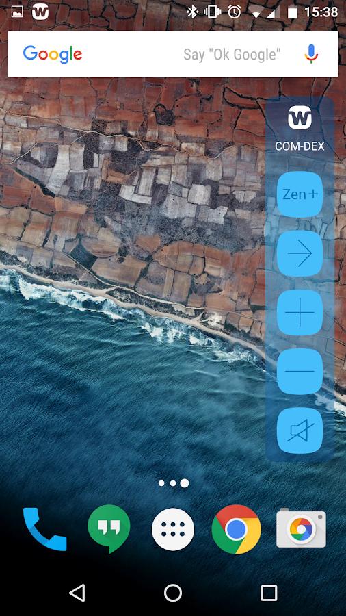 Screenshots of COM-DEX for iPhone