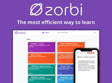Zorbi - Flashcard Quiz Maker For PDFs