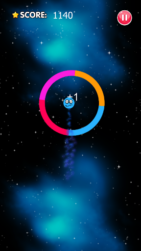 Color Space Switch - Jump Ball & Rushing Ball Game  captures d'u00e9cran 2