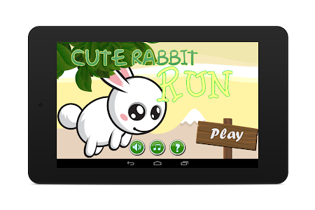 Cute Rabbit Game: Free screenshot 4