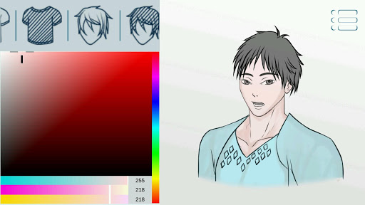 Avatar Maker: Guys screenshot 12