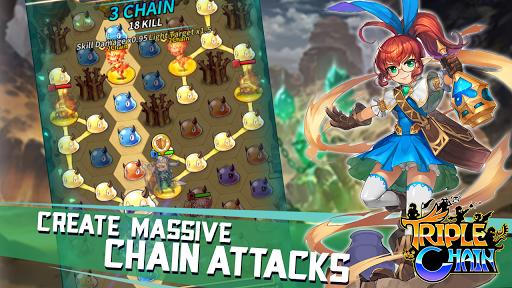 TripleChain Mobile [Mod] – Câu đố chiến thuật