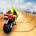 Mega Ramp Impossible Tracks Stunt Bike Rider Games icon
