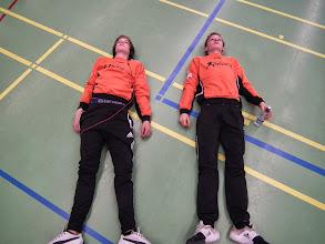 Photo: niet echt hoor, ze lagen gewoon te ontspannen...