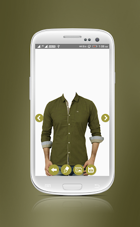 Man Casual Shirt Photo Suit 1.8 screenshot 2092296