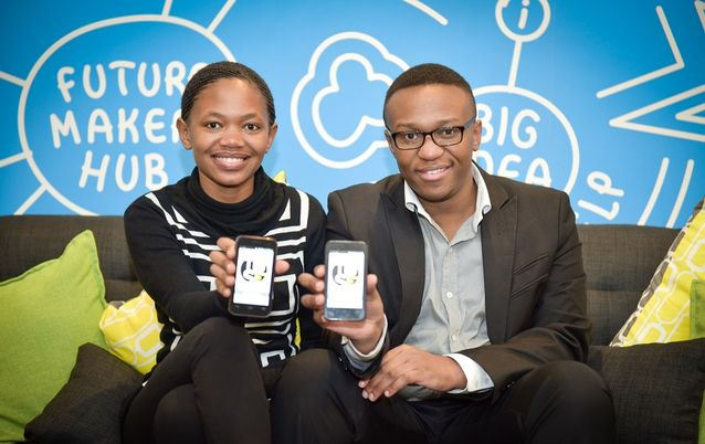 Thulisile Volwana and Sabelo Sibanda are both co-founders in Tuse, which specialises in providing mobile coverage in areas where there is no signal. The startup is a finalist in the 2016 SAB Social Innovation Awards. Picture: SUPPLIED