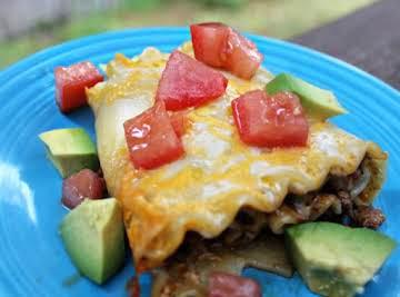 Enchilada Rollups Recipe
