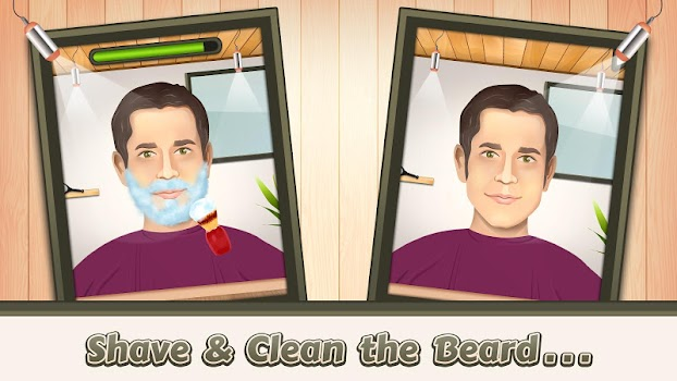 Beard Salon Crazy Shave Game