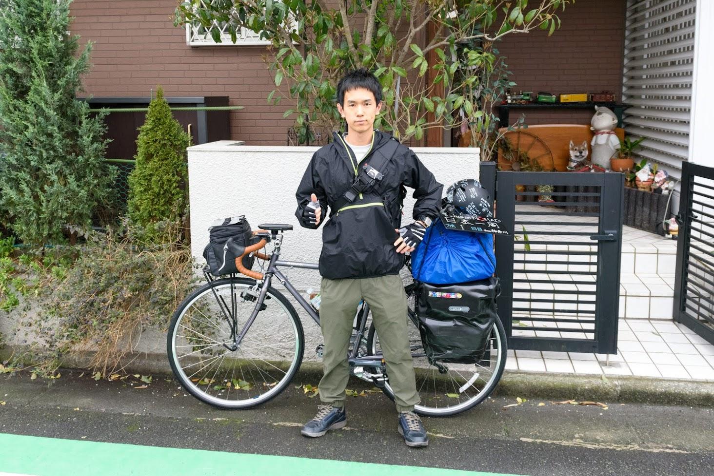 【旅1日目】自転車日本一周出発!東京湾フェリーで千葉を目指す