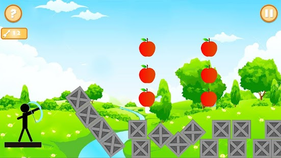 Real StickMan Apple Shooter - náhled