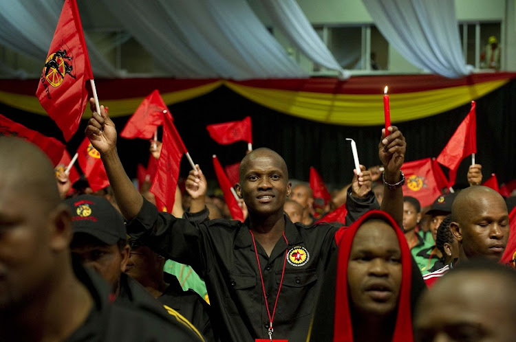 Cosatu members at the federation's national congress. Picture: TYRONE ARTHUR
