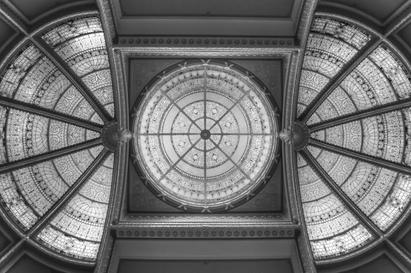 Photo: EEOB Skylight in Black and White
