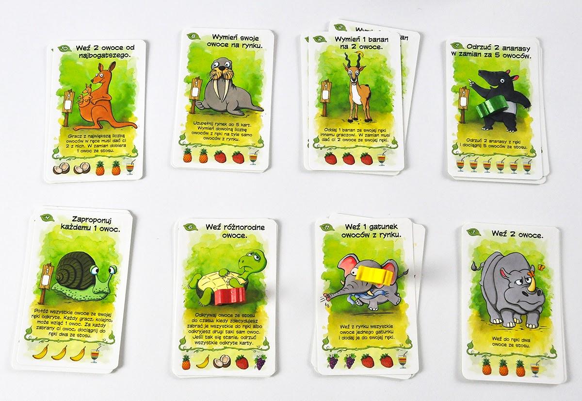 Owocowe Opowieści - gra planszowa