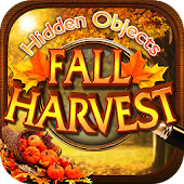 Hidden Objects Fall Harvest Halloween Object Game