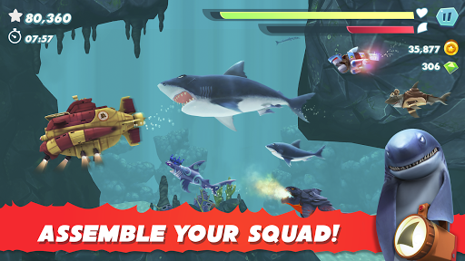Hungry Shark Evolution apktram screenshots 7