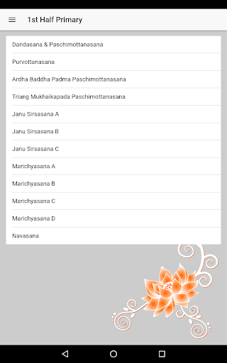 2020 Just Love Yoga Ashtanga Yoga Primary Series Android App Download Latest