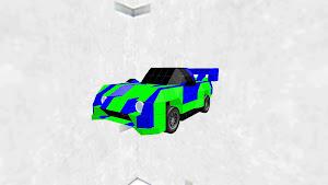 Sport Car Blue ストリート車