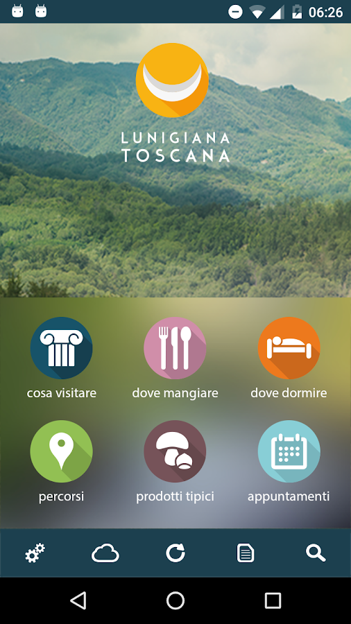 Lunigiana Toscana- screenshot