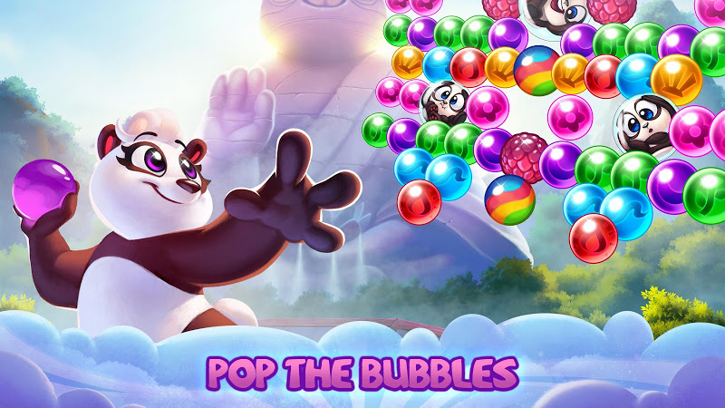 Panda Pop! Bubble Shooter Saga & Puzzle Adventure Screenshot 0