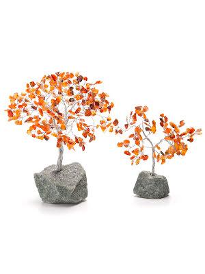 Karneol, Livets träd i 2 storlekar