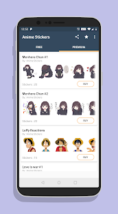 Anime Stickers Pack Screenshot