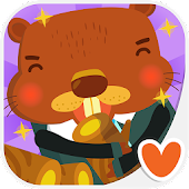 Kids Animal Game - The Beaver