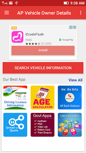 Download AP Vehicle Owner Details By RC Number Google Play softwares