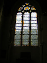 Photo: The museum is entered through the chapel - the stained glass here is not the original, which is at Chantilly.