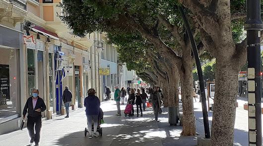 Almería ya nota la caída de la tercera ola del covonavirus