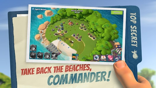 Boom Beach MOD APK (Unlimited Everything) 1