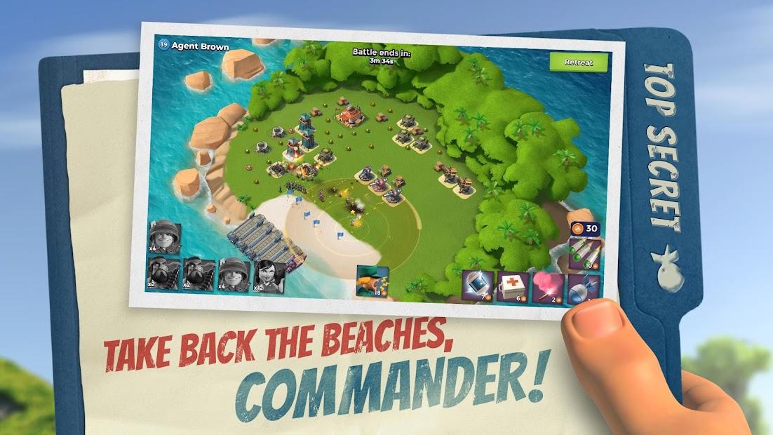 Boom Beach Android App Screenshot