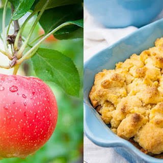 Gluten Free Apple Cobbler!