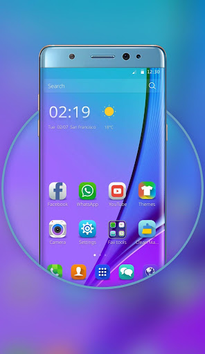 Launcher for Galaxy Note7 for PC
