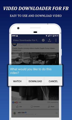 VideoDownloader For Facebook:HD Video Downloader 1.0 screenshots 3