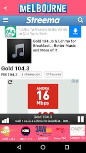 Melbourne radios Streema - náhled