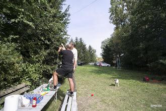 Photo: Montaż anteny KF na Field Day 2016.