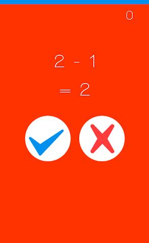 android Speedy Math Screenshot 1
