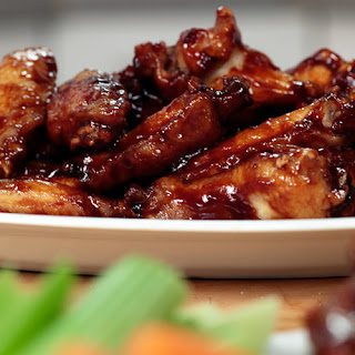 Honey-Barbecue Wings.
