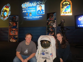 Photo: With my buddy Mark in the auditorium before the cameras went live!  #NASASocial