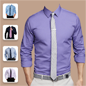 Man Shirt with Tie Photo Editor icon