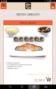 Buzz Sushi Pontoise screenshot 3
