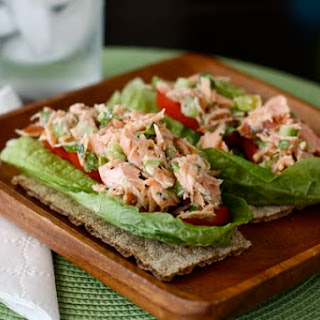 Simple Salmon Salad.