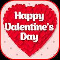 Happy Valentine's 2020 icon