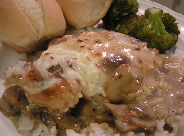Muenster Chicken Breast In A Sherry Mushroom Sauce Recipe