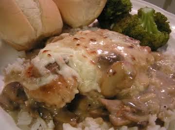 Muenster Chicken Breast in a Sherry Mushroom Sauce