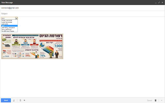 Yesh Atid FanMail Extension