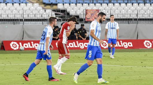 El Almería llega triste al Play Off