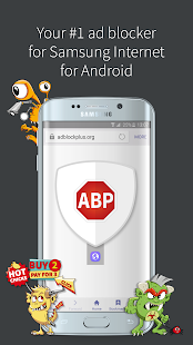 Adblock Plus Samsung Internet- screenshot thumbnail
