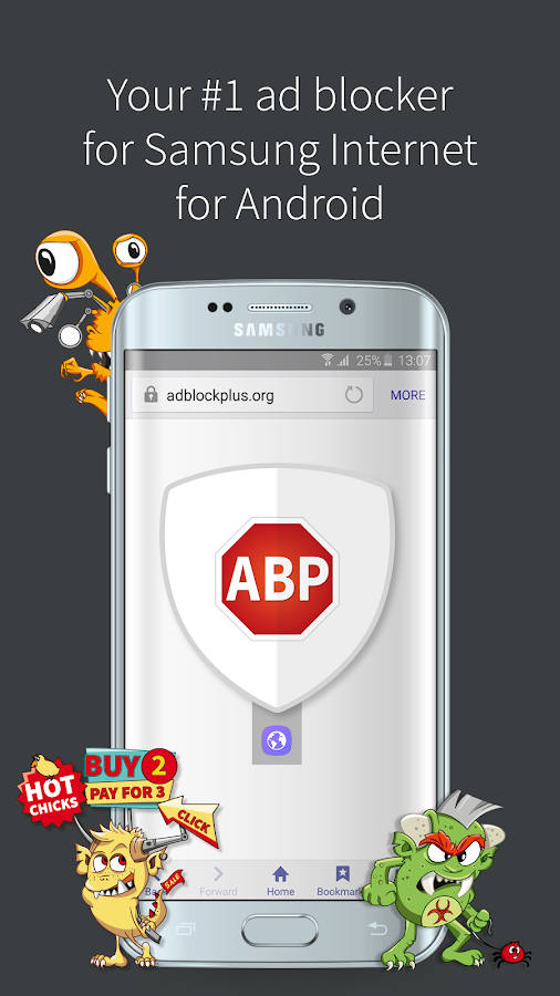 Adblock Plus Samsung Internet- screenshot